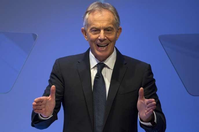 Tony Blair à New York le 6 octobre 2015.