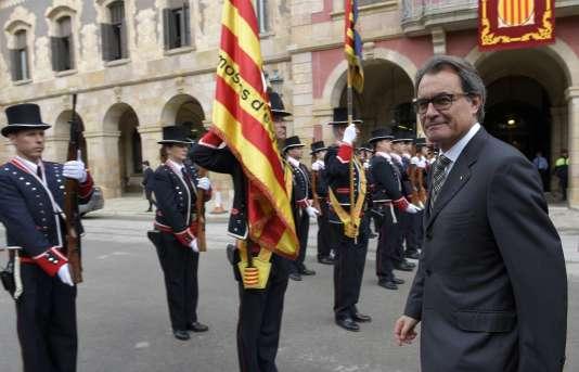 Le président de Catalogne, le 26 octobre