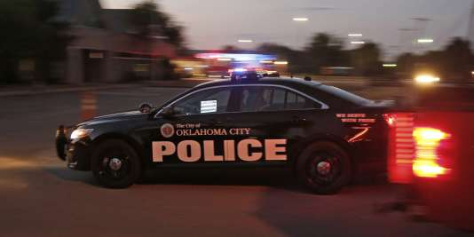 Une voiture de police à Oklahoma, le 7 octobre.