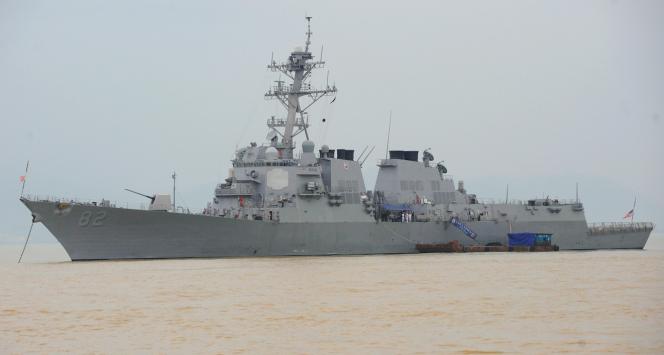 L'USS Lassen photographié en novembre 2009 au port de Tien Sa, à Danang, au Vietnam.