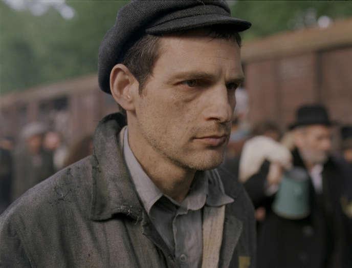 L'acteur Géza Röhrig dans « Le Fils de Saul », de Laszlo Nemes.
