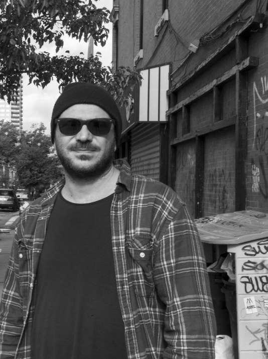 L'artiste Melik Ohanian à New York, en 2013.