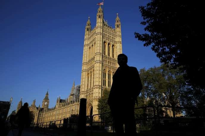 Le bâtiment du Parlement à Londres le 26 octobre 2015.