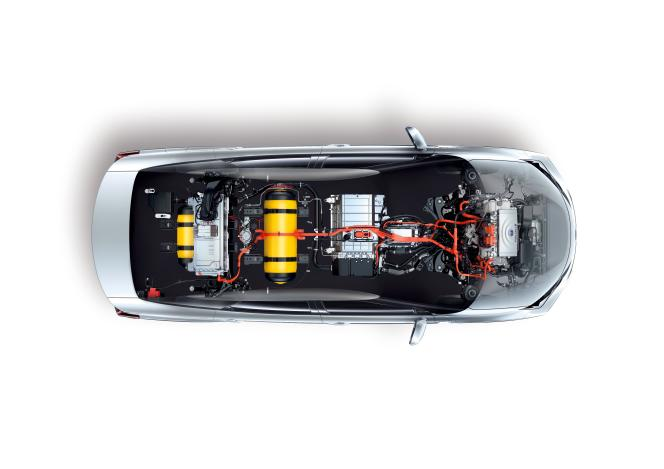Un plein d'hydrogène est facturé autour de 50 euros, soit 10 euros pour 100 kilomètres.
