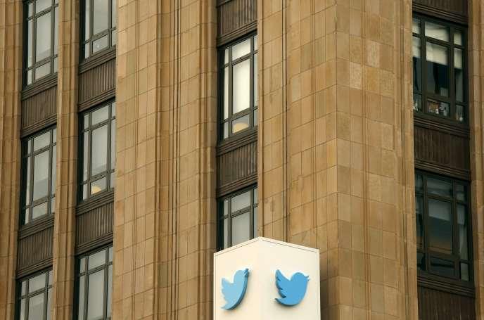 Le siège de Twitter à San Francisco, en Californie.