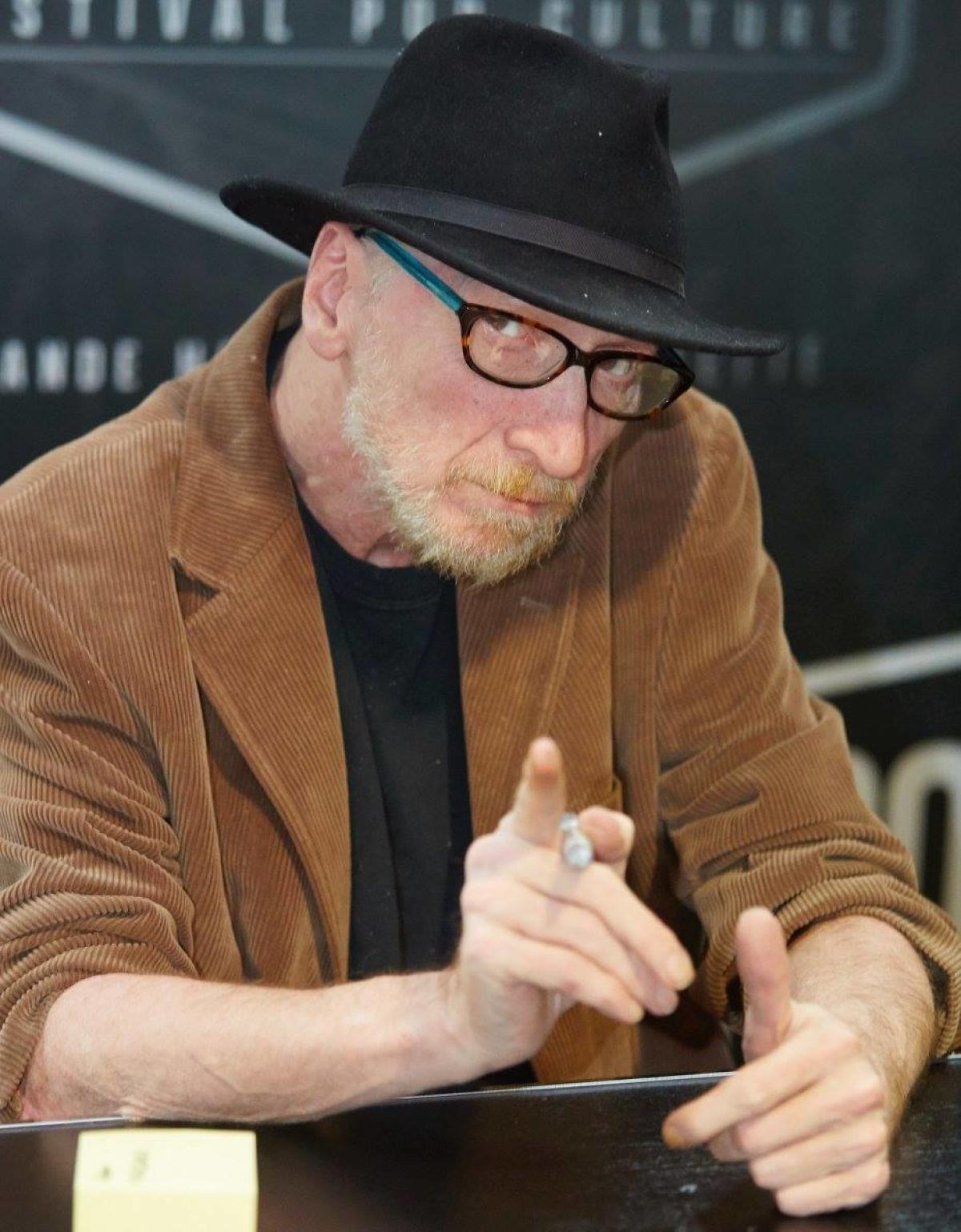 Frank Miller, le 25 octobre au Comic-Con de Paris.