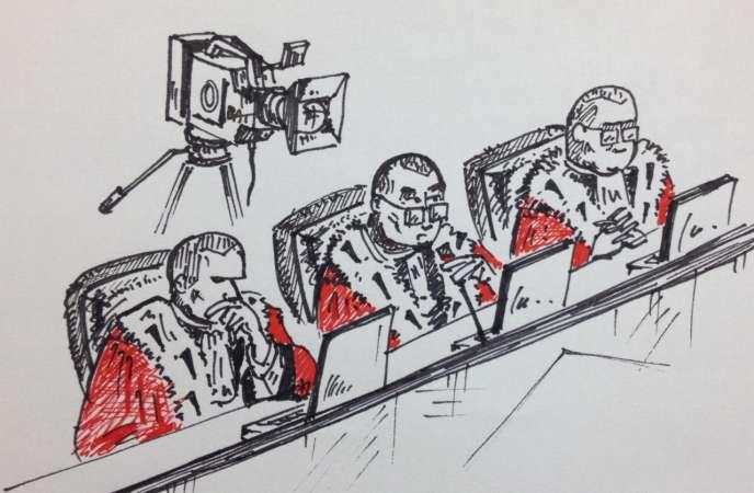 Les juges du procès Habré
