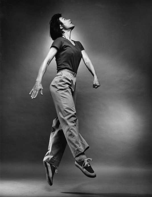 La danseuse Yvonne Rainer en 1982.