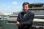 Le président du groupe TF1, Gilles Pélisson. AFP PHOTO THOMAS COEX