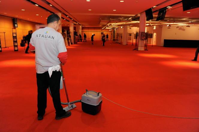 Au Palais des congres de Lyon. Atalian emploie près de 50 000 personnes dans l'Hexagone