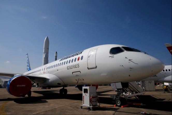 La « C Series » de Bombardier rassemble une gamme d'appareils commerciaux dotés de 110 à 160 places.