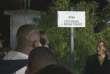 L'allée Zyed Benna et Bouna Traoré inaugurée à Clichy-sous-Bois, le 27 octobre 2015.