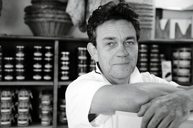 Patrick Duler, agriculteur et cuisinier, dirige le Domaine Saint-Géry à Lascabanes, dans le Lot.