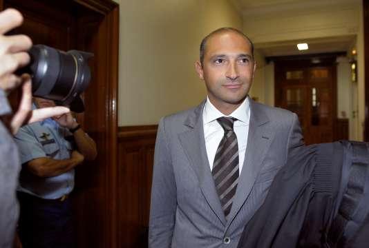 Thomas Fabius, ici en juin 2011, a été placé en garde à vue pour faux, blanchiment et escroquerie le 15 décembre 2015.