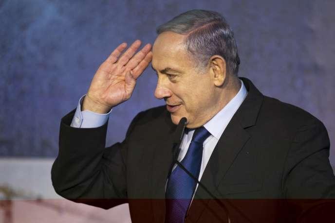 Le premier ministre israélien Benjamin Netanyahou, le 29 octobre