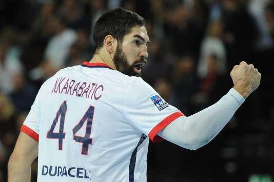 Le joueur vedette du PSG Nikola Karabatic.