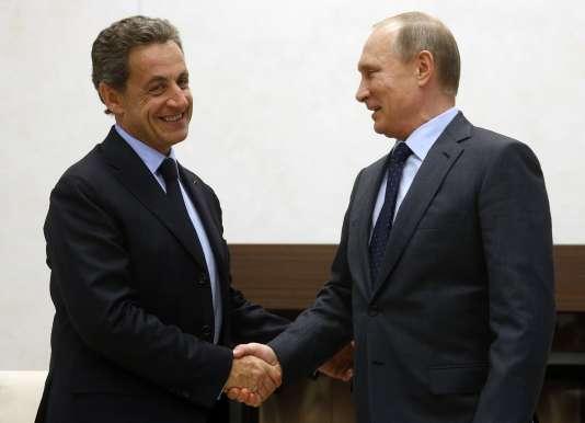 A Moscou, Nicolas Sarkozy a rencontré Vladimir Poutine.