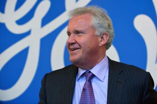 Le PDG de General Electrics, Jeffrey Immelt, à Paris, le 29 octobre.