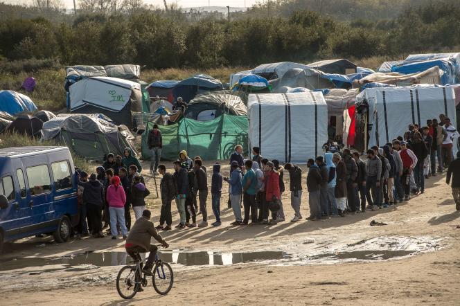 Des migrants de la