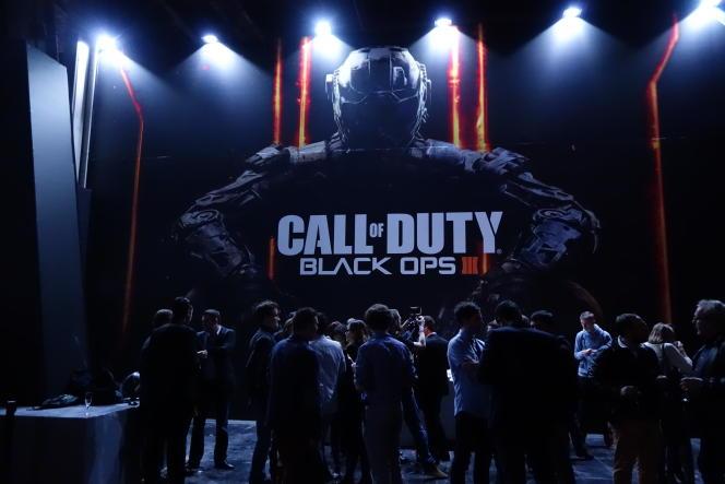 « Call of Duty : Black Ops III » est l'un des jeux les plus prisés à l'édition 2015 de la Paris Games Week.