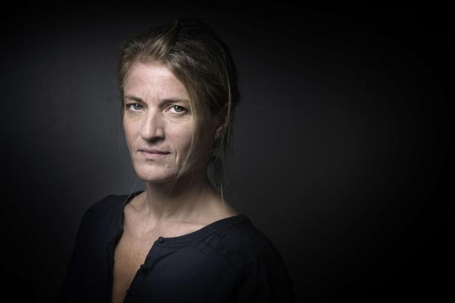 Nathalie Azoulai, le 7 octobre 2015 à Paris.