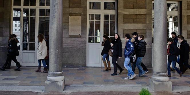 Lycée et classes préparatoires du Lycée du Parc à Lyon.