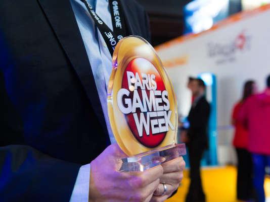 La Paris Games Week, un des quatre prix des jeux vidéo remis à la fin octobre en France.