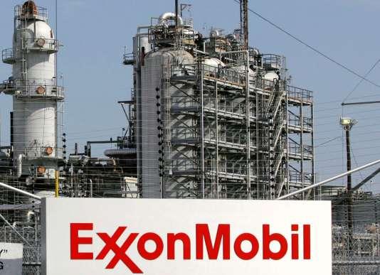 La raffinerie d'ExxonMobil à Baytown, au Texas, en 2008.