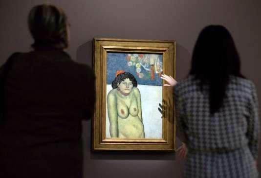 """""""La Gommeuse"""", de Pablo Picasso."""