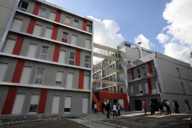 Un immeuble étudiant, le 9 septembre 2013.