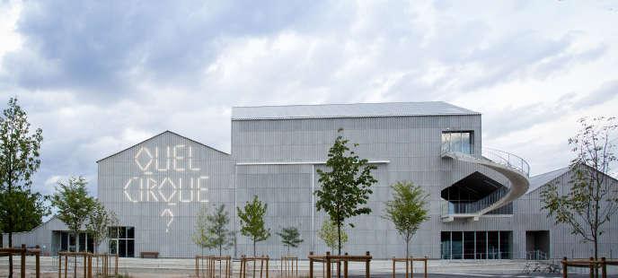 Le Centre national des arts du cirque, à Châlons-en-Champagne (Marne).