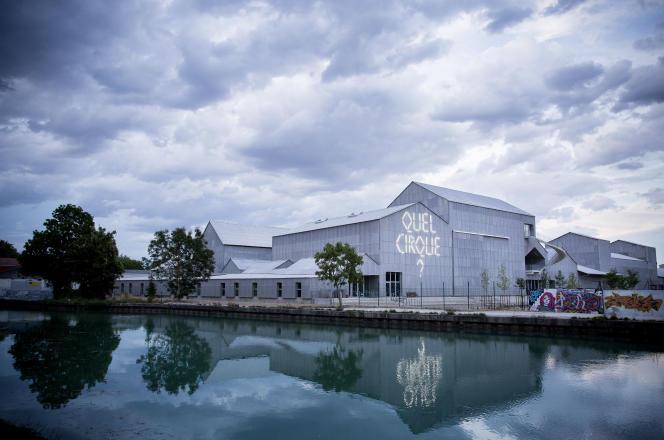 Les nouveaux bâtiments du Centre national des arts du cirque s'étendent sur deux hectares.