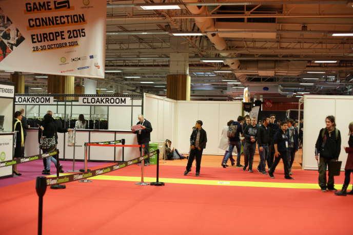L'entrée de la Game connection, le salon professionnel qui jouxte la Paris Games Week.