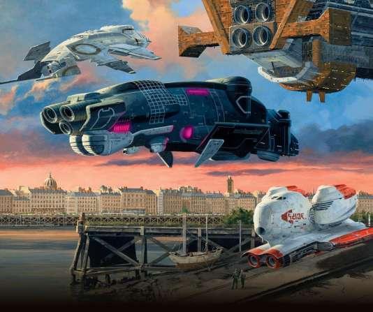 «S'il faut se demander dans quel monde l'humanité doit s'habituer à vivre, un bon moyen de commencer à le savoir, ou de le percevoir, peut être l'imaginaire de la science-fiction. Le prospecter, c'est aussi accéder à une autre forme de connaissance, plus expérimentale» (Photo:affiche de la quinzième édition du Festival International de science fiction, à Nantes, octobre 2015).