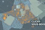 Carte de Clichy-sous-Bois.