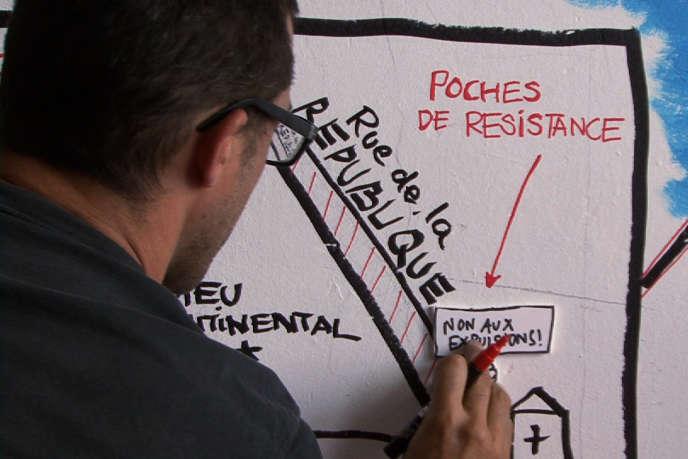 Une image du documentaire français de Nicolas Burlaud,