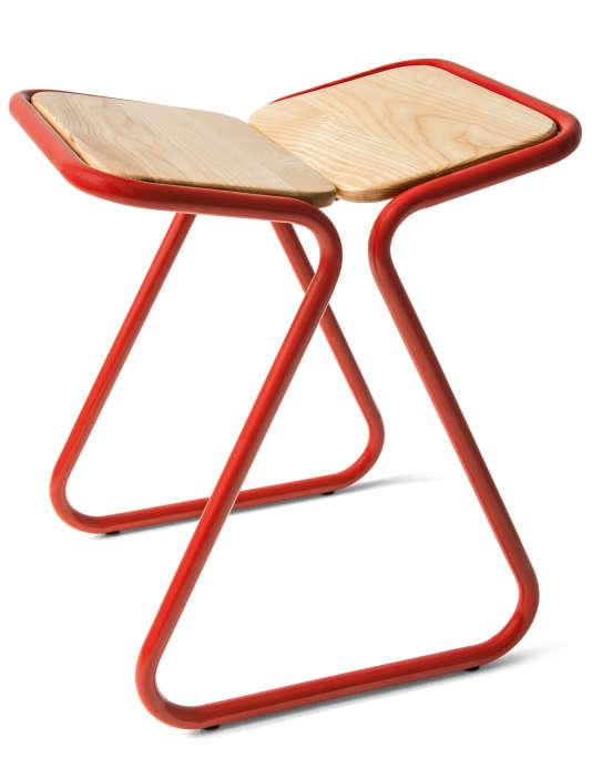 Ce modèle de tabouret signé Dutch Design et réalisé pour Monoprix est vendu 69 euros.