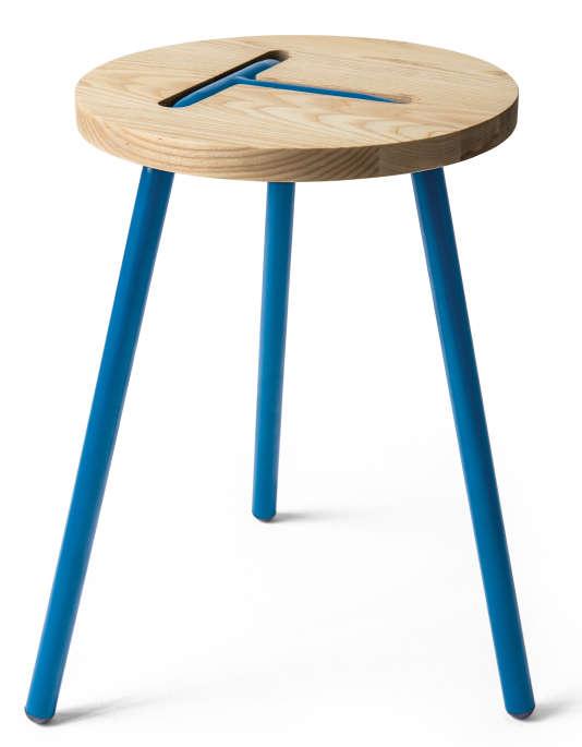 L'un des tabourets Dutch Design réalisé pour Monoprix.