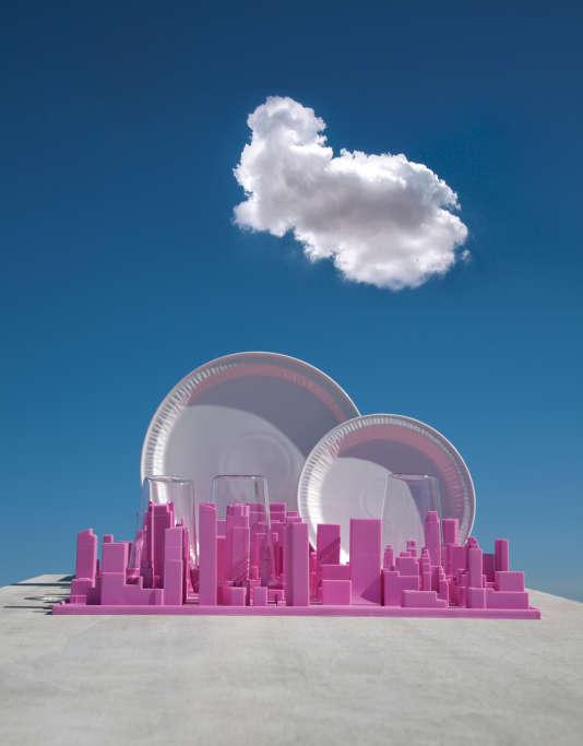 L'égouttoir Inception de Luca Nichetto imite la skyline new-yorkaise.