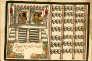 Représentation du Grand Tzompantli dans le Codex Ramírez, réalisé en 1587 par le jésuite Juan de Tovar.