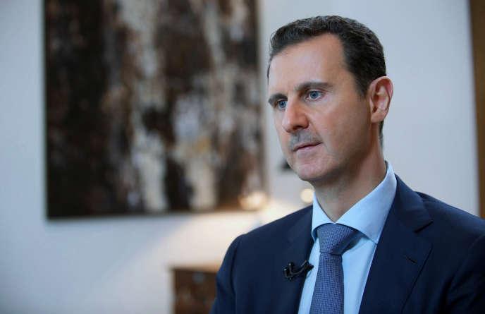 Bachar Al-Assad en octobre.