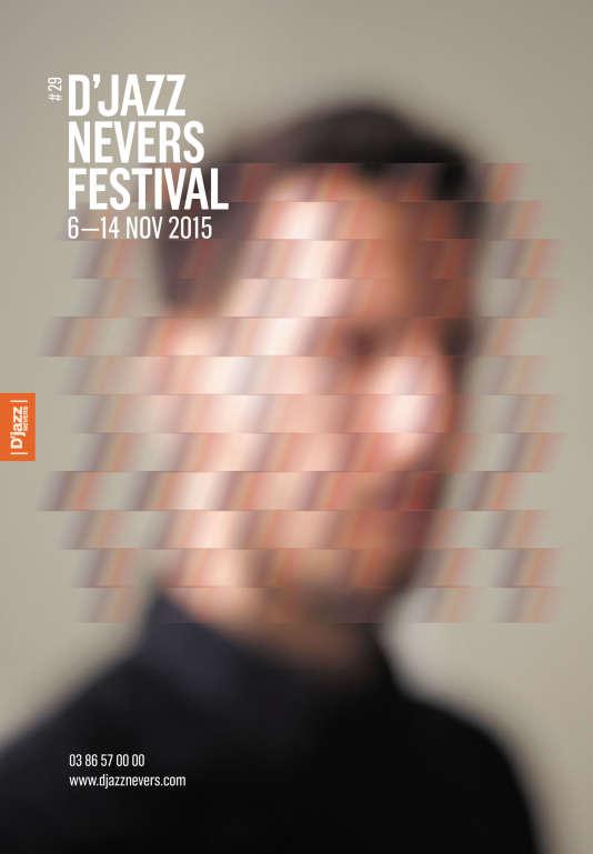 Affiche de la 29e édition du D'Jazz Nevers Festival, du 6 au 14 novembre, réalisée et conçue par Patrik Aveillan et Ghislain Mirat.