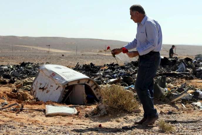 Le crash de l'Airbus A321 a fait 224 morts, le 31 octobre, dans le Sinaï en Egypte.
