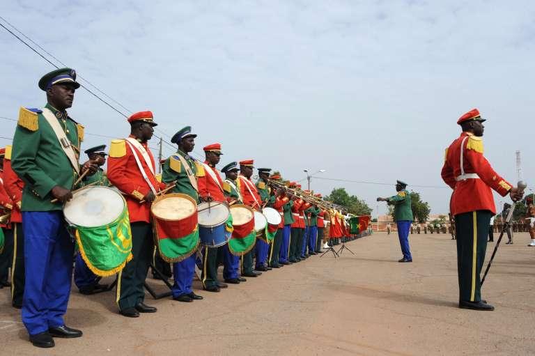 Lors des célébrations du renversement de l'ancien président burkinabé Blaise Compaoré à Ouagadougou, le 1er novembre.