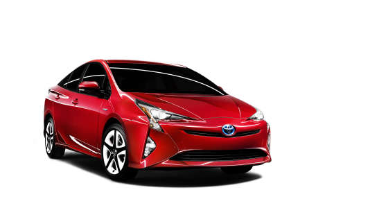 La quatrième génération de la Toyota Prius.