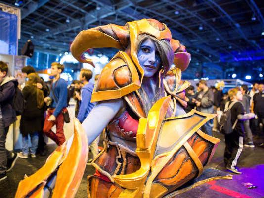 Par rapport à l'an dernier, les cosplayers étaient bien plus nombreux dans les allées de la Paris Games Week.