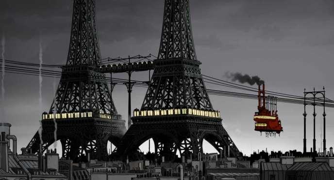 Paris et ses deux tours Eiffel dans