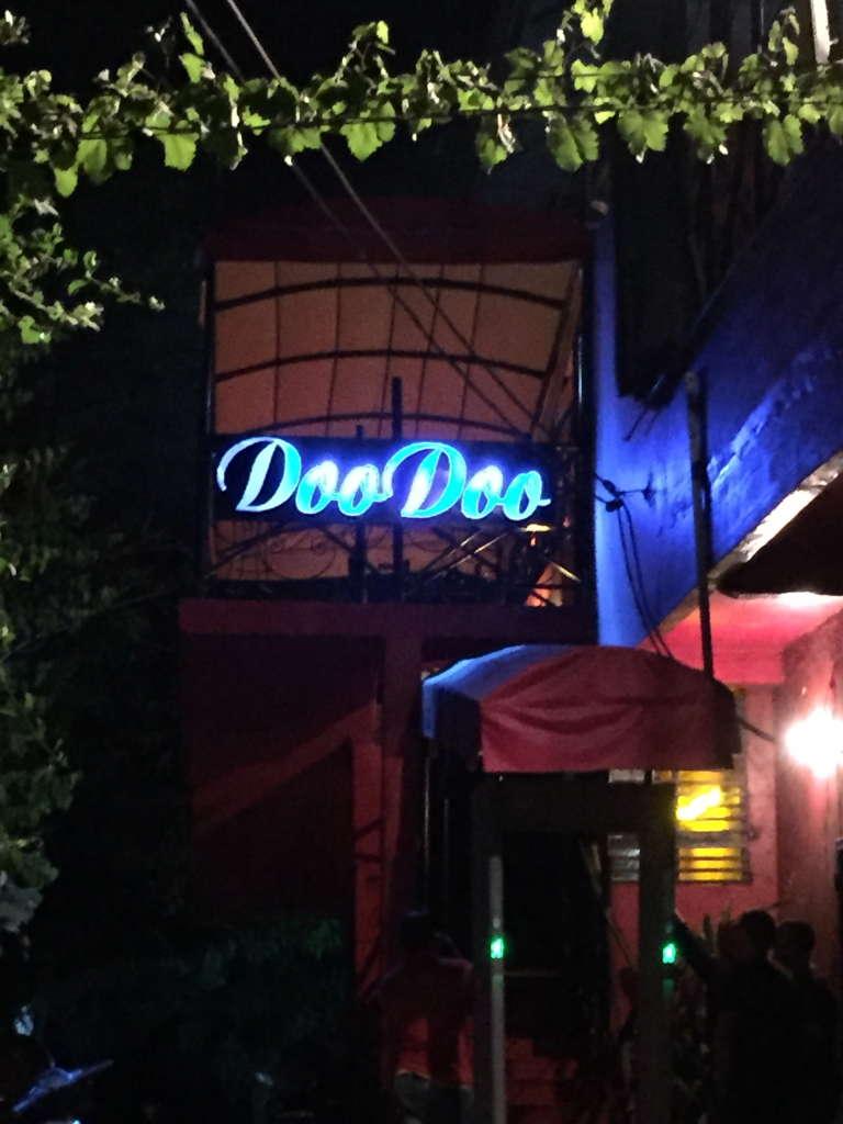 Le bar La Terrasse rebaptisé le Doo Doo après l'attentat du 7 mars 2014, qui a fait cinq morts.