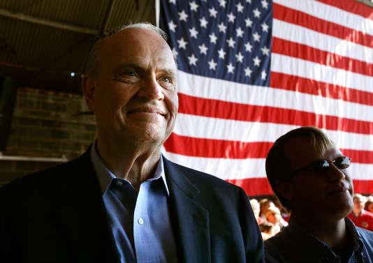 Fred Thompson à Blountville dans le Tennessee en novembre 2008.