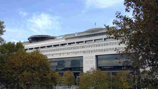 Le ministère de l'économie et des finances, le 30 octobre.